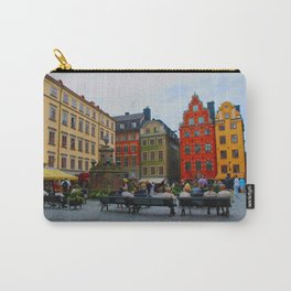 Stortorget Square in Gamla stan - Stockholm Carry-All Pouch