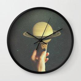 Saturn Cone Wall Clock