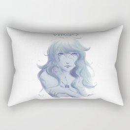 Virgo Sign - Zodiac series by OccultArt Rectangular Pillow