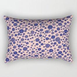 Blue flowers Rectangular Pillow
