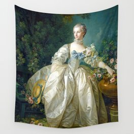 Madame Bergeret Wall Tapestry