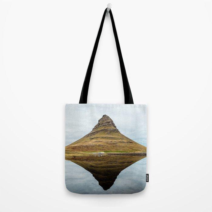 Mountain reflect Tote Bag