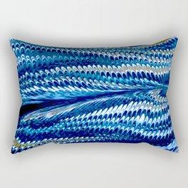 Splendid Blue Lizard Lover Rectangular Pillow