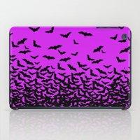 bats iPad Cases featuring Bats by beach please
