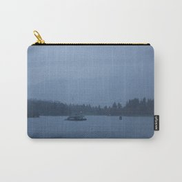 Foggy harbour Vancouver Carry-All Pouch