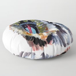 Baboon Floor Pillow