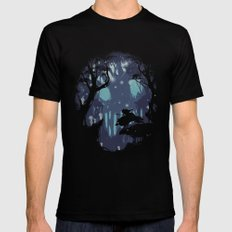 kodama Spirit Mens Fitted Tee SMALL Black