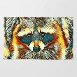 AnimalArt_Raccoon_20170602_by_JAMColorsSpecial Rug