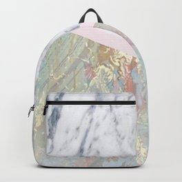 Whimsical marble fantasy Backpack