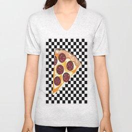 Eat Pizza Unisex V-Neck