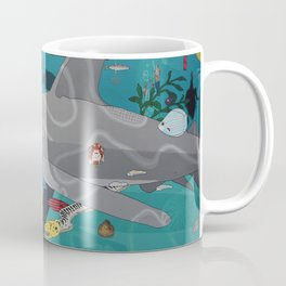Aquarium (Shark Painting) Coffee Mug