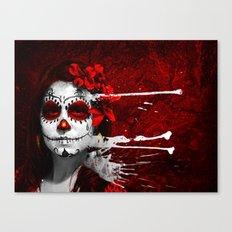 Pintura de los Muertos Canvas Print