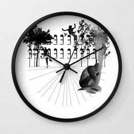 The Mind Burning Wall Clock