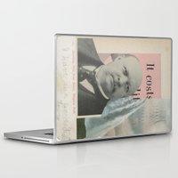 postcard Laptop & iPad Skins featuring Postcard #24 by Jon Duci