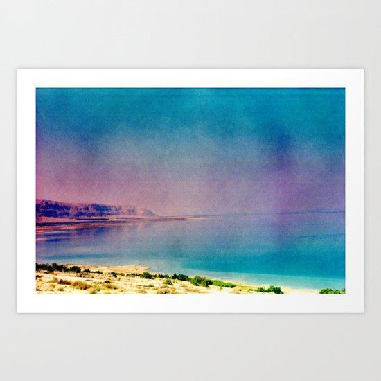 Dreamy Dead Sea II Art Print