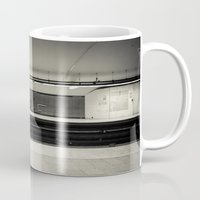 montreal Mugs featuring Montreal Subway by Mikael Rouske