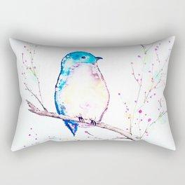 Little Bluebird Rectangular Pillow