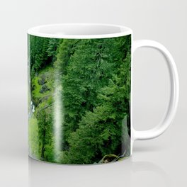 Creek Waterfall Landscape Coffee Mug