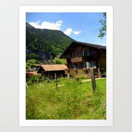 Switzerland: Jungfrau Three Art Print
