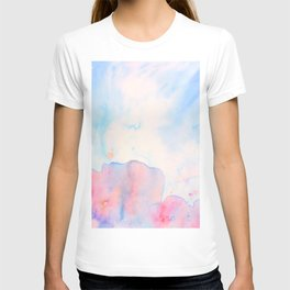 Watercolor Abstract Landscape Pattern T-shirt