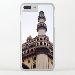 Indian Architecture - Streets of India Clear iPhone Case