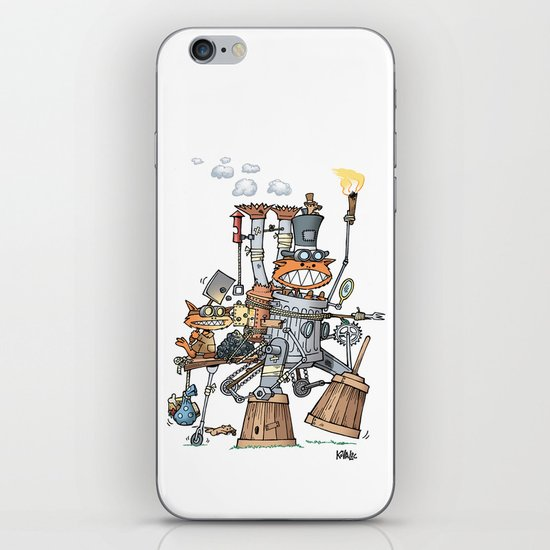 Steampunk Kobolds iPhone & iPod Skin