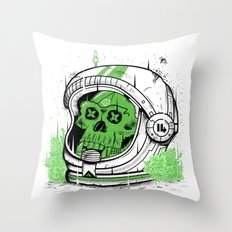 Alive Again Throw Pillow