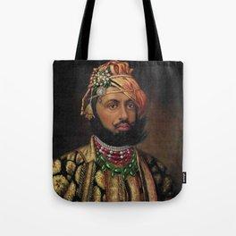 MAHARAJA PORTRAIT Tote Bag
