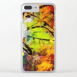 Art Remix Clear iPhone Case