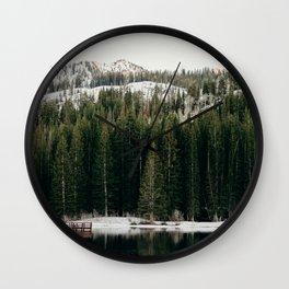 Silver Lake's a Beaut. Wall Clock