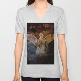 angel  Unisex V-Neck