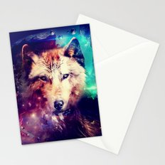 Space Wolf - for iphone Stationery Cards
