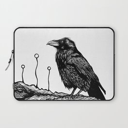 Jovial Raven Laptop Sleeve