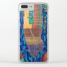 CITIES - NEW YORK V Clear iPhone Case