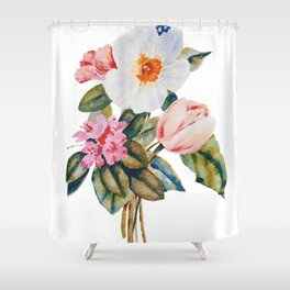 Loose Spring Bouquet Shower Curtain
