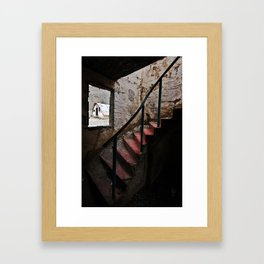 Stairs to Redemption Framed Art Print