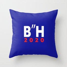 "B""H Biden Harris 2020 LOGO JKO Throw Pillow"