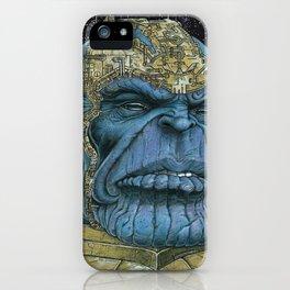 Thanos of Titan iPhone Case