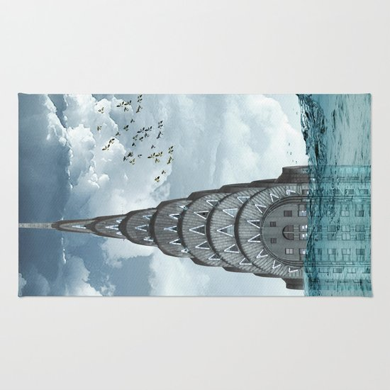 above the water line Rug