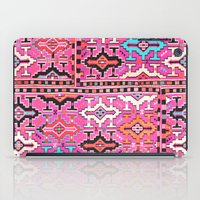 kilim iPad Cases featuring Aztec Kilim 2 by EllaJo Design
