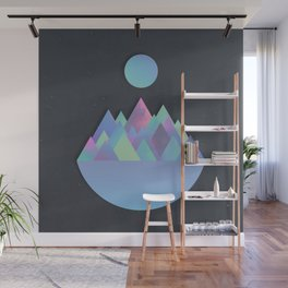 Moon Peaks Alternative Wall Mural