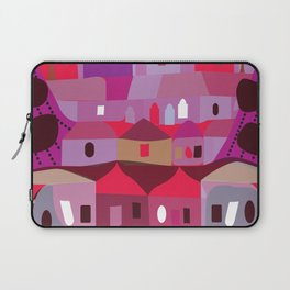 Cow in Downtown Los Angeles Laptop Sleeve