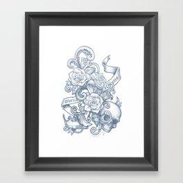 Gloria Invictis Aestus Framed Art Print