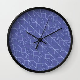Kates .plum Wall Clock