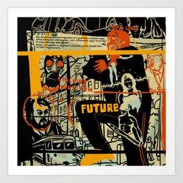 Freud III. Art Print
