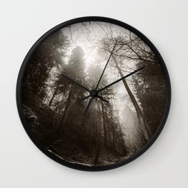 Thou shall not pass Wall Clock