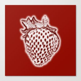 Red Strawberry Canvas Print