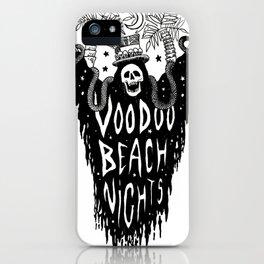Voodoo Beach Nights iPhone Case