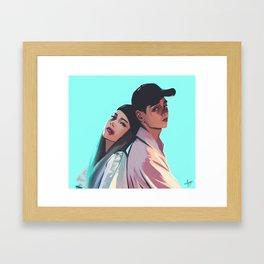 DEANxHEIZE 'And July' Framed Art Print