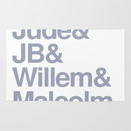 Jude & JB & Willem & Malcolm. Rug
